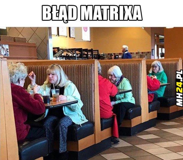 Błąd Matrixa Obrazki