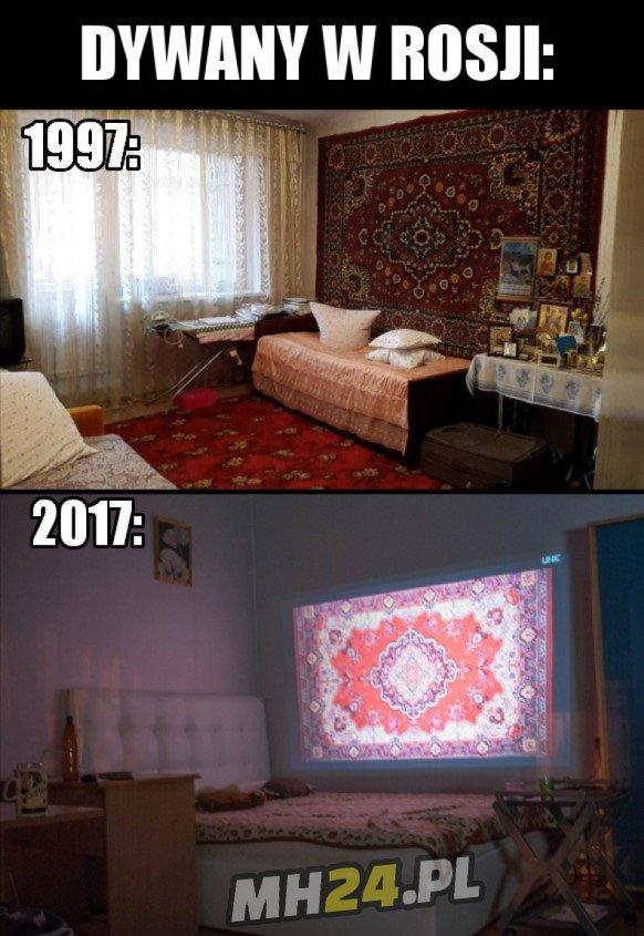 Ewolucja dywanów w Rosji
