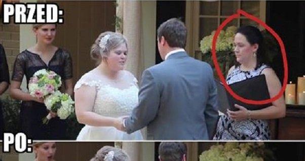 Kobieta udzielające ślubu nie wytrzymała i puściła pawia xD