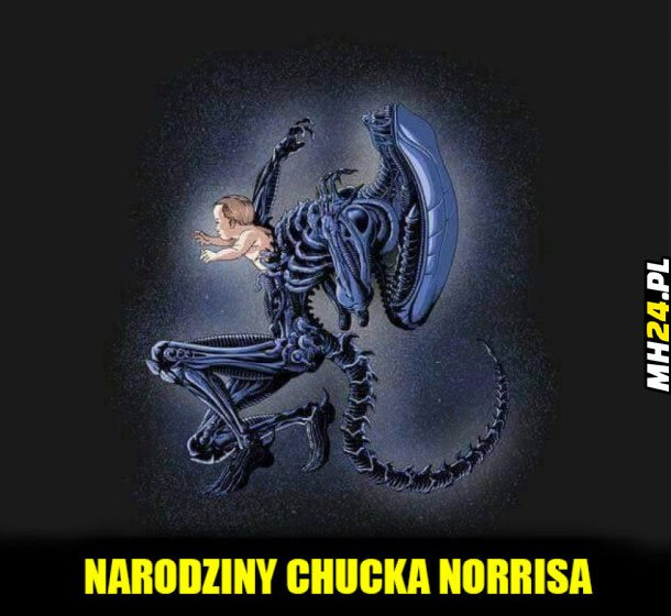 Narodziny Chucka Norrisa