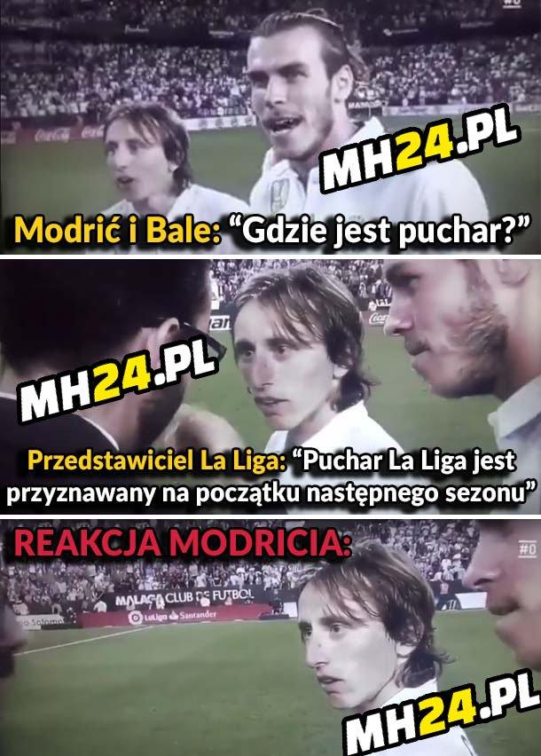 Reakcja Modricia po tej wiadomości Sport