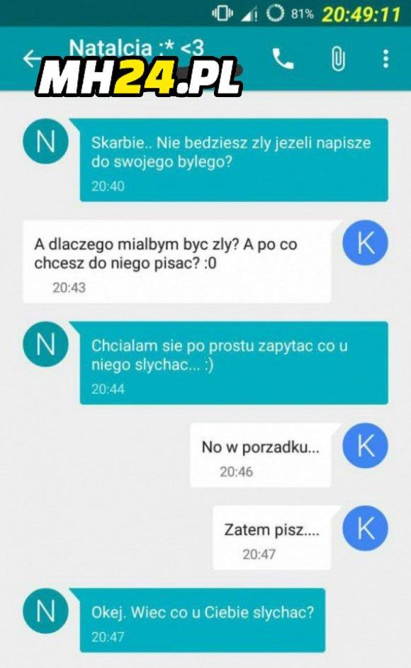 SMS od byłego