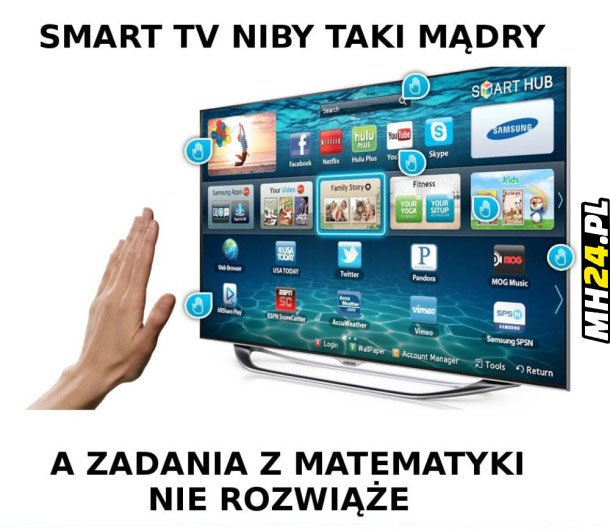 Smart tv niby taki mądry