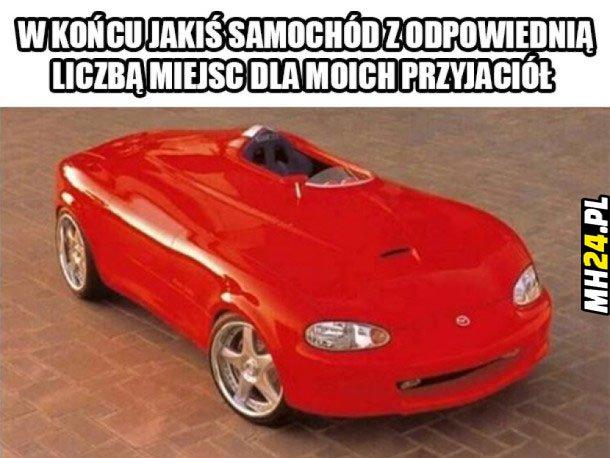 W końcu jakiś samochód z... Obrazki