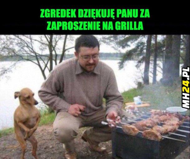 Zgredek i grill Obrazki