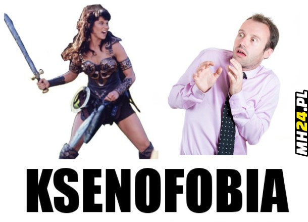 Ksenofobia Obrazki