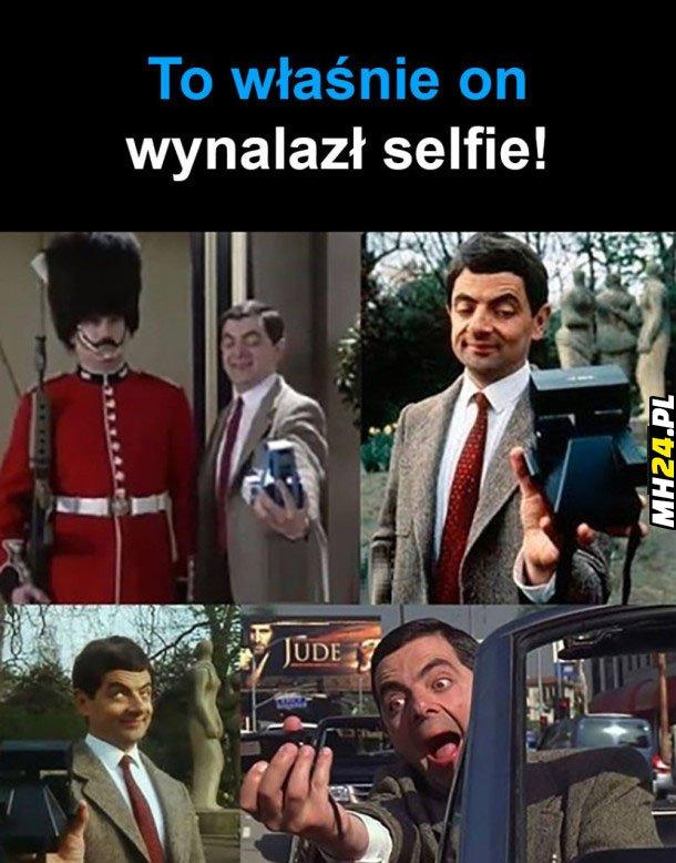 To właśnie on wynalazł selfie