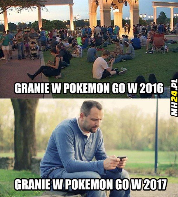Granie w Pokemon Go