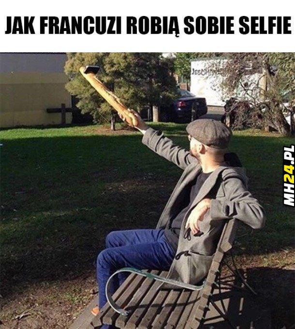 Jak Francuzi robią selfie