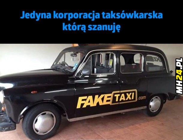 Jedyna korporacja taksówkarska jaką szanuję