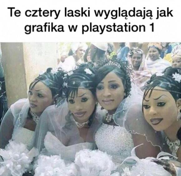 Wyglądają jak grafika w Playstation 1 Obrazki