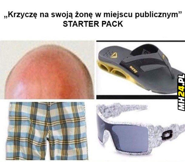 Janusz starter pack Obrazki