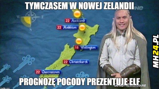 Pogoda w Nowej Zelandii