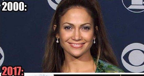 Tak zmieniała się Jennifer Lopez Lifestyle
