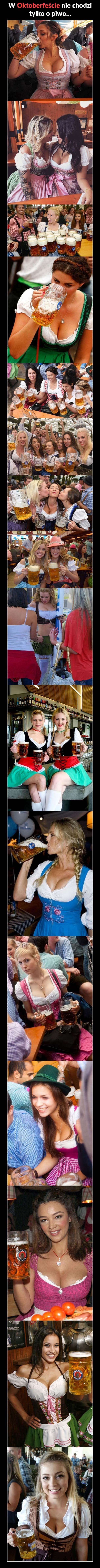 Piękniejsza strona Oktoberfestu Obrazki