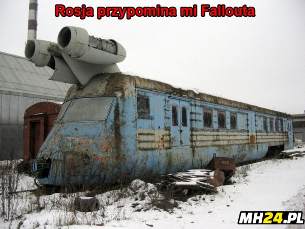Rosja przypomina ma Fallouta