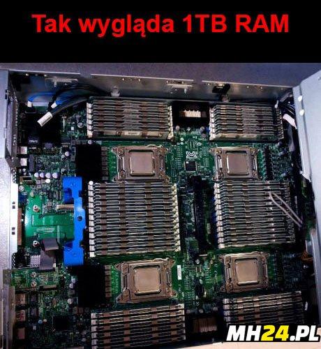 Tak wygląda 1TB RAM Obrazki