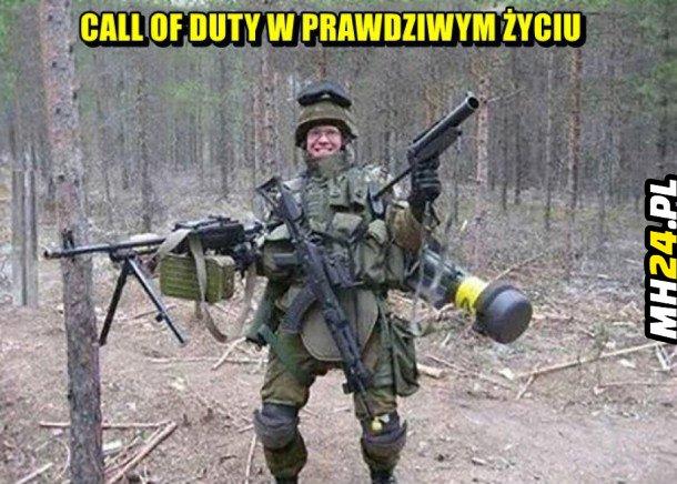 Call of duty w prawdziwym życiu Obrazki