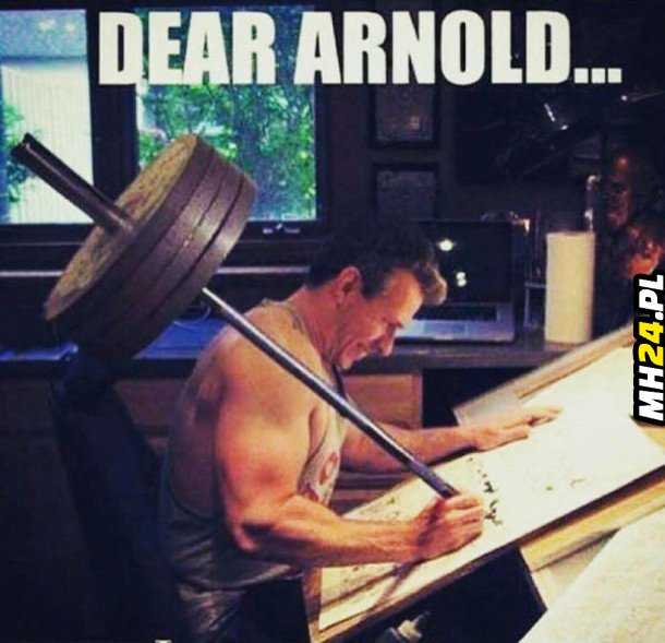 Dear Arnold…