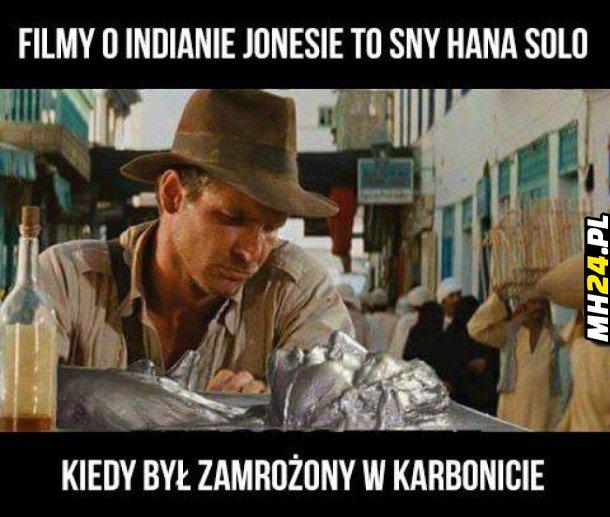Filmy o Indianie Jonesie to... Obrazki