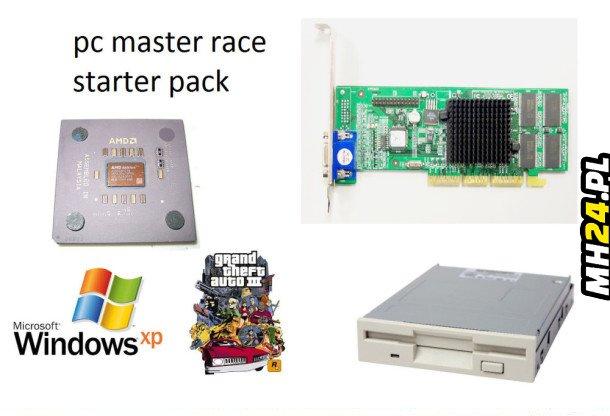PC master race starter pack