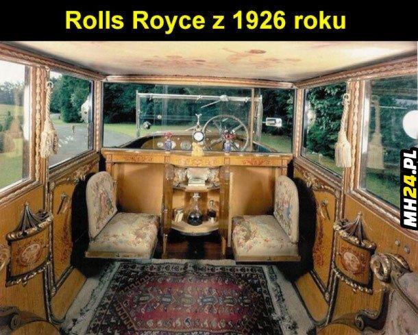 Rolls Royce z 1926 roku