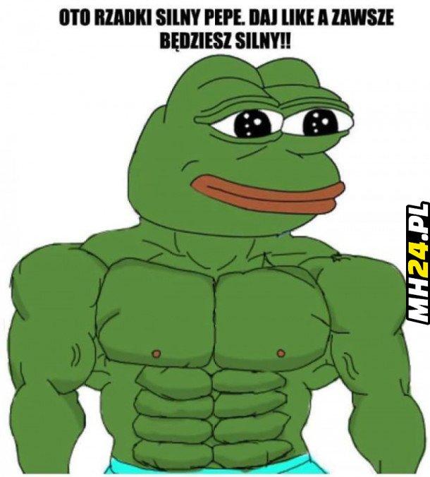 Rzadki silny Pepe