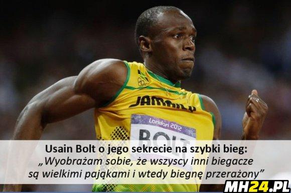 Sekret najszybszego biegacza na świecie Obrazki