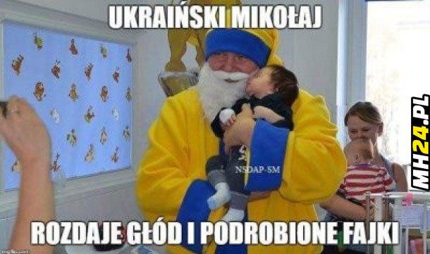 Ukraiński Mikołaj xD Obrazki