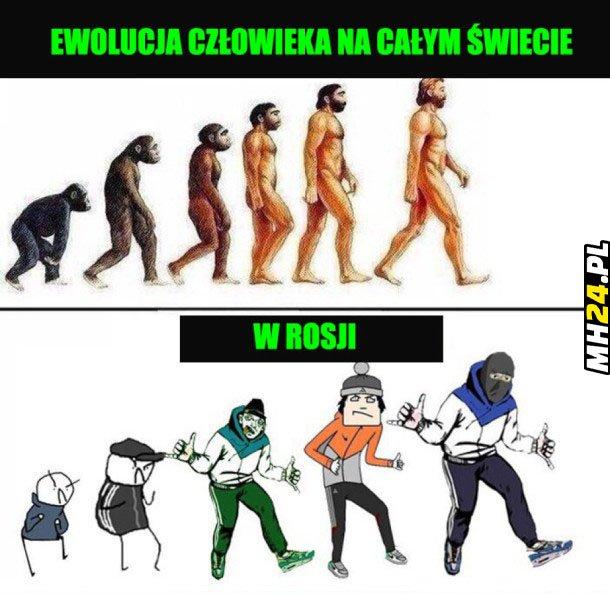 Ewolucja człowieka Obrazki