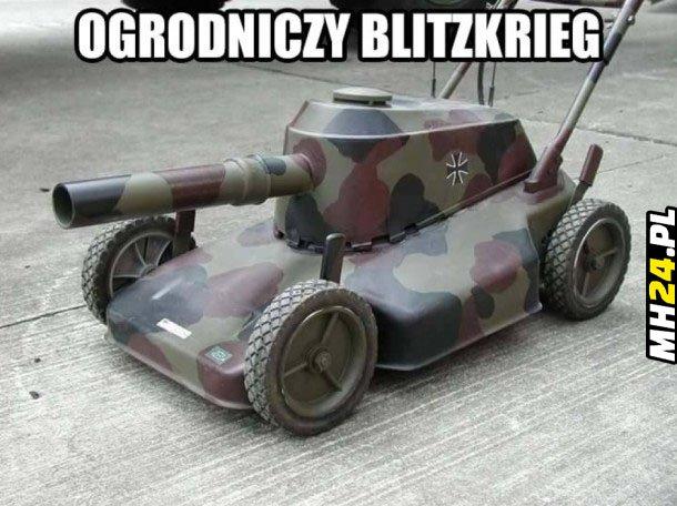 Ogrodniczy blitzkrieg