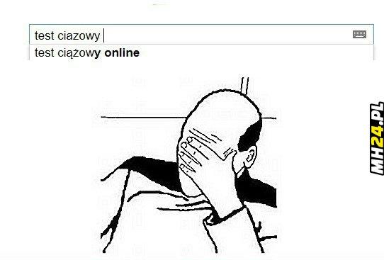 Test ciążowy online Obrazki