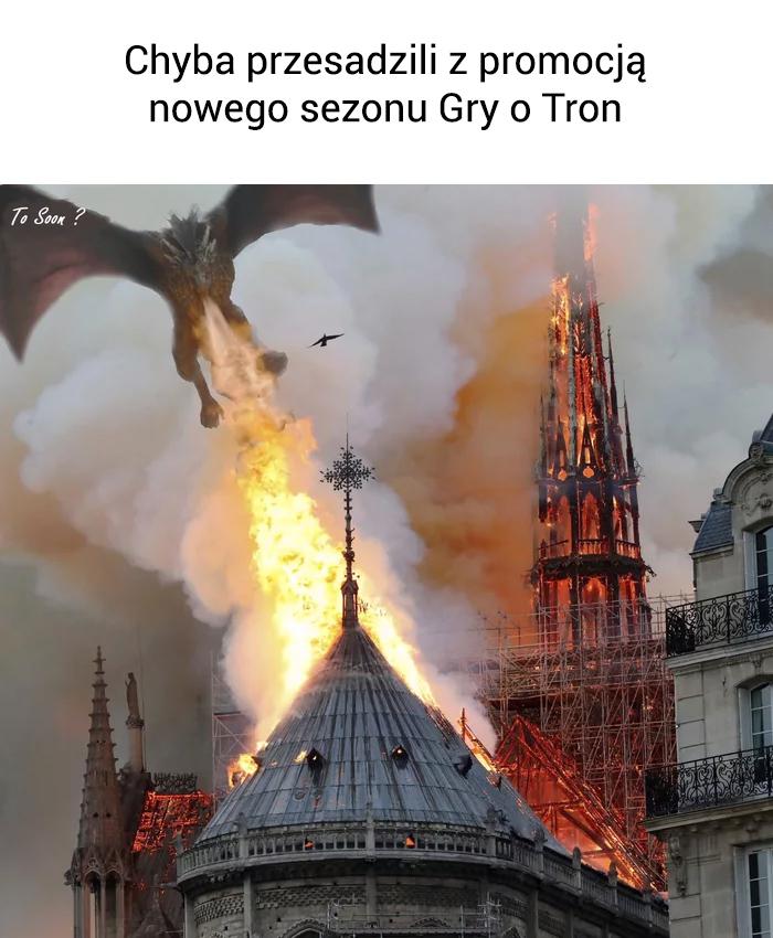 Chyba przesadzili z promocją nowego sezonu Gry o Tron