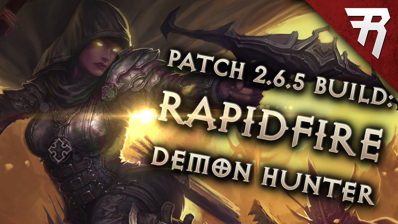 Diablo 3 Season 17 Demon Hunter LoN Rapid Fire build guide – Patch 2.6.5 (Torment 16)