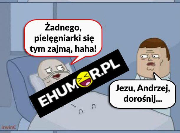 Czarny humor nie jest zły :D