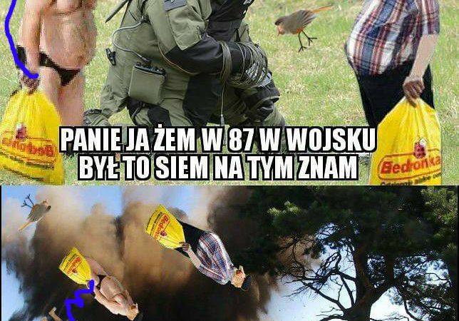 Janusz chce rozbroić bombę…