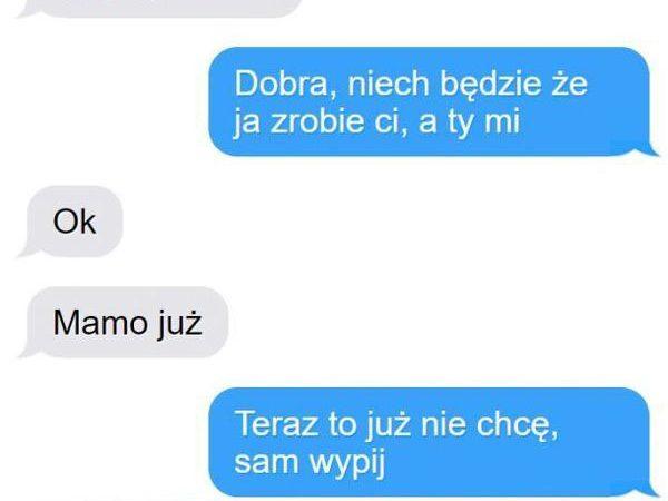Genialne rozmowy smsowe :D