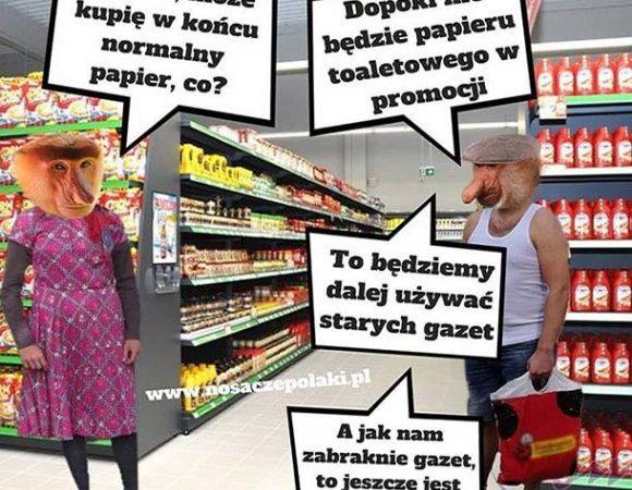 Janusz, może kupię w końcu normalny papier, co?
