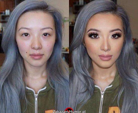 Tak wygląda laska, która wydaje 1000 dolarów miesięcznie na makijaż