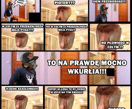 Janusz w łazience