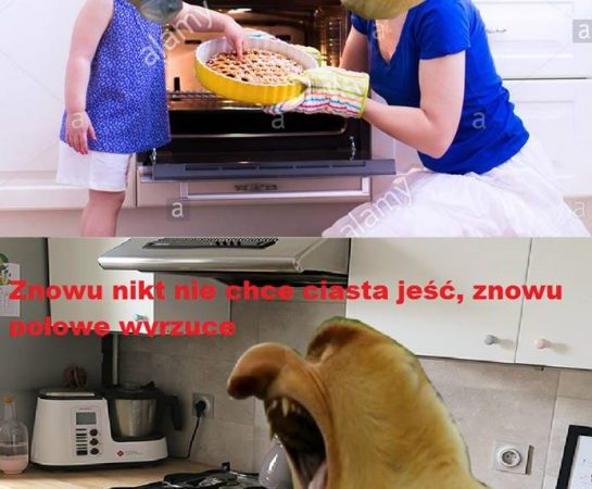 Karynka chce ciasto xD