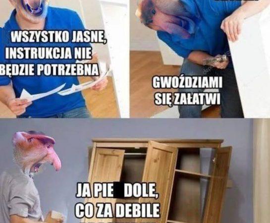 Kiedy Janusz kupi mebel w IKEI xD