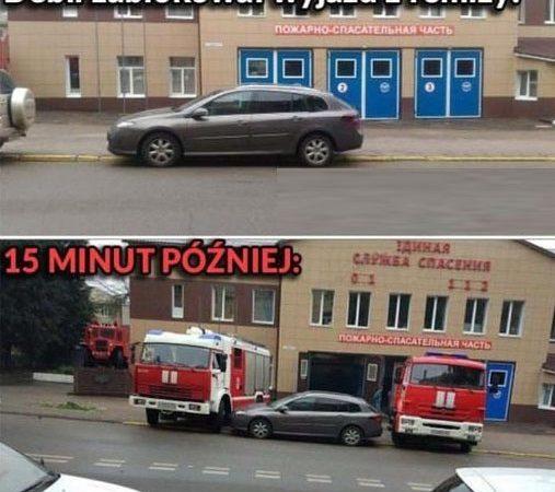 Brawo dla strażaków