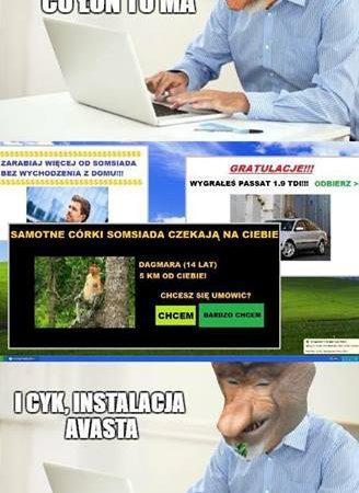 Problem Janusza z komputerem
