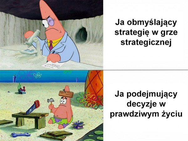 Strategia i decyzje w grze xD