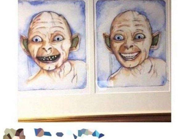 W poczekalni u dentysty :D