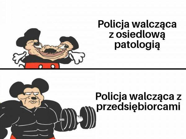 Typowa policja xD